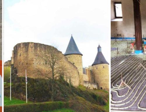 Chape fluide sur plancher chauffant en Aveyron